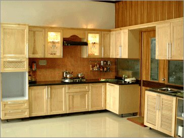 Wooden Modular Kitchen: Modular Kitchen Designs