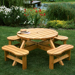 Wooden Garden Furniture Effectively, Tips to Choose Wood Garden ...