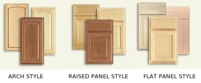 Wood Cabinets Styles