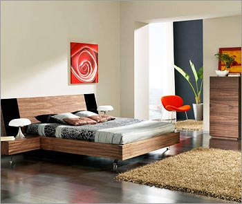 Solid Wood Contemporary Bedroom Furniture Trends