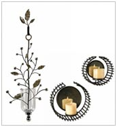 Diwali Wrought Iron Candle Holders