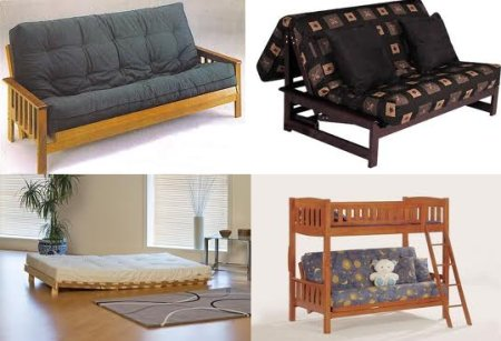 Wood Futon Beds