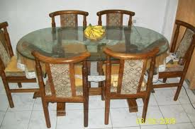 Wooden Dining Table Designs In Teak Wood With Glass Top Pdf Plans