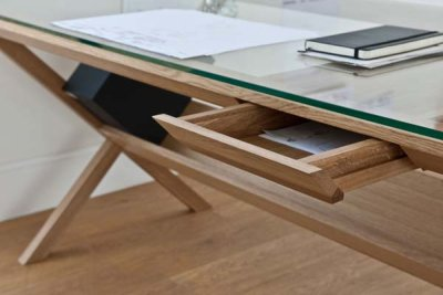 Modern Covet Wood Desk