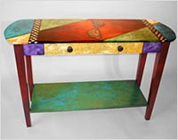 Painting Furniture Made of Wood