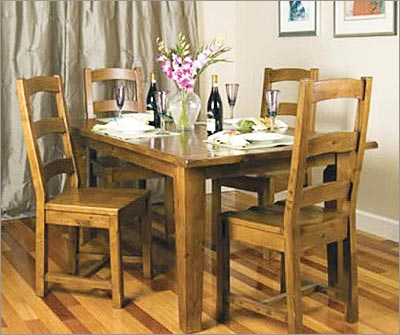 Reclaimed Wood Furniture - Dining Table