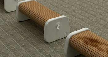 The Rolling Wooden Bench