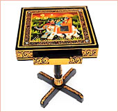 Buy Painted Wooden handcrafted Telephone Table