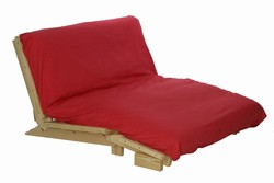 Wood Trii Fold Futon Bed